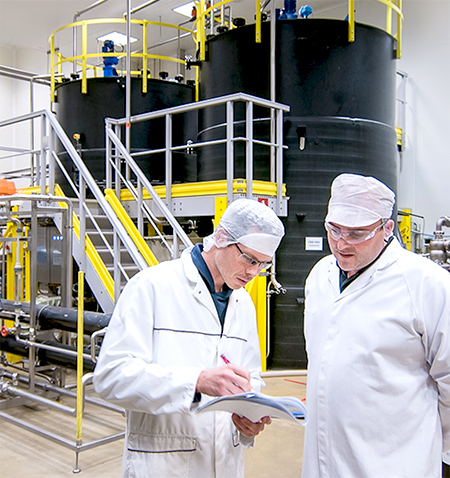 Picture of kitogreen manufacturing with 2 workers